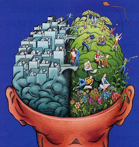 otak kanan otak kiri