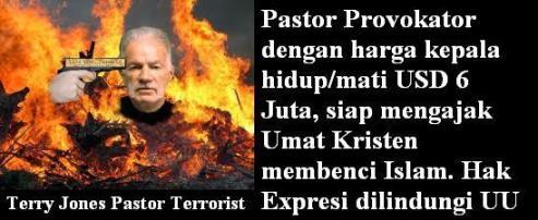 Pastor Terrorist Terry Jones