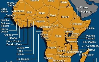 afrika-map