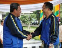 Gubernur JABAR Ahmad Heryawan dan Dada Rosada
